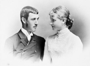 otto_of_austria_and_his_bride_maria_of_saxony_1886